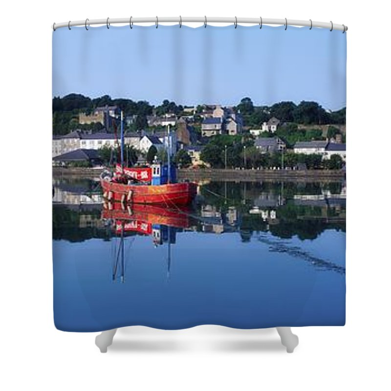 Calm Shower Curtain featuring the photograph Kinsale Harbour, Co Cork, Ireland by The Irish Image Collection