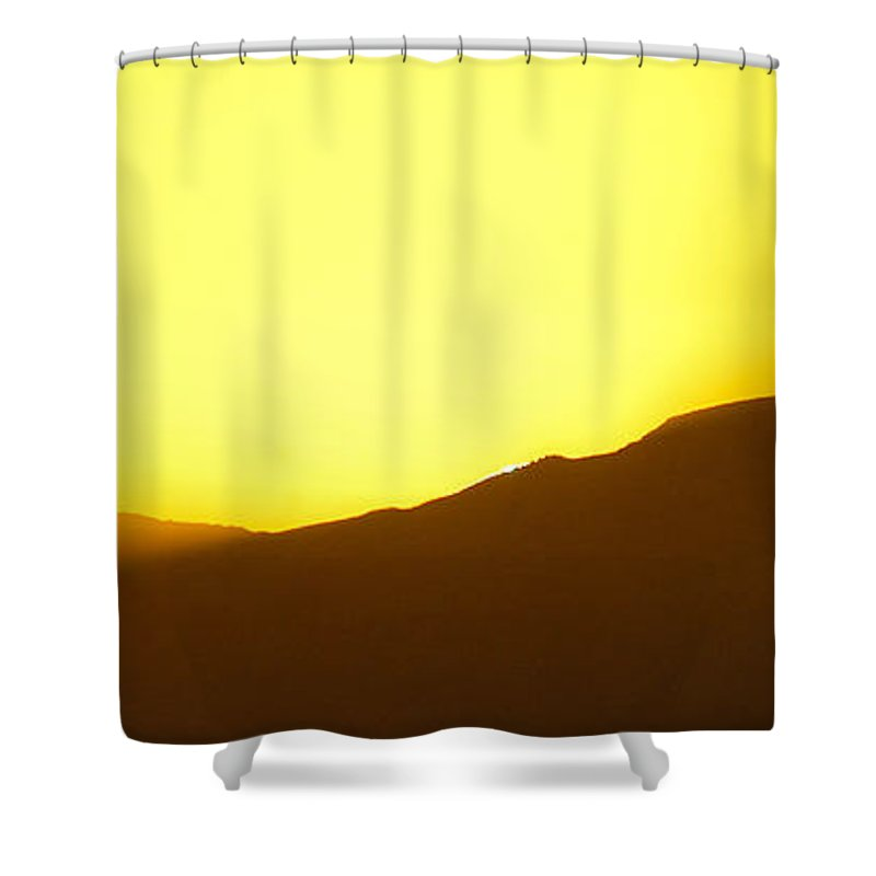 Africa Shower Curtain featuring the photograph Last Glimpse by Alistair Lyne