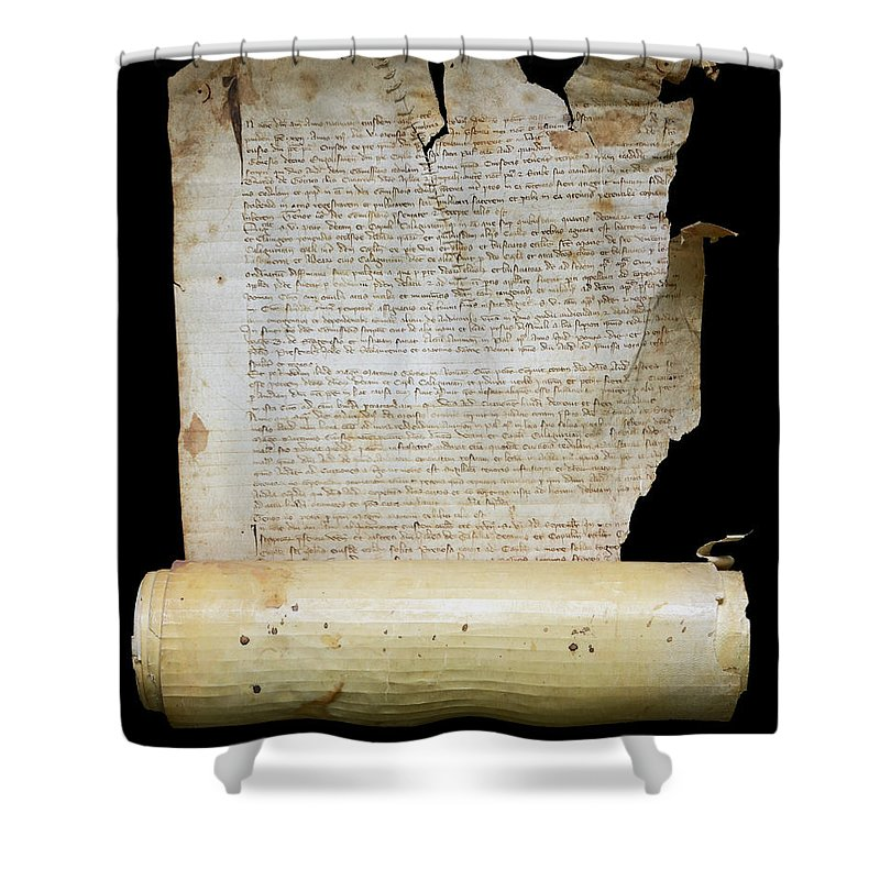 Lawsuit Shower Curtain featuring the photograph Lawsuit Of The Cathedral Chapter Of Calahorra. Pleito Del Cabildo Catedralicio De Calahorra by RicardMN Photography