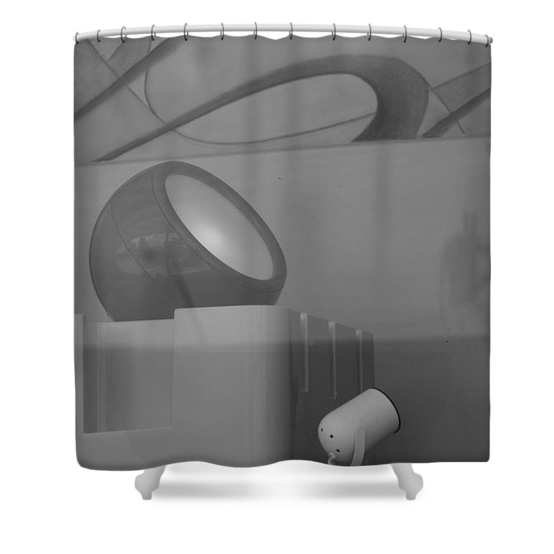 Lights Shower Curtain featuring the photograph Lights And Reflections by Rob Hans
