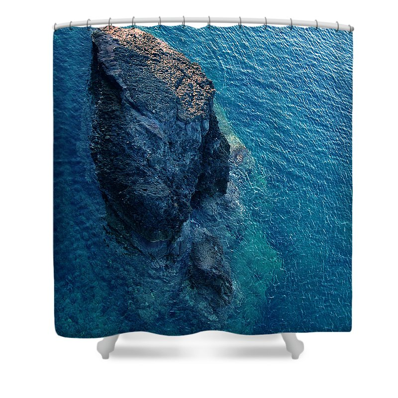 Colette Shower Curtain featuring the photograph Little Island Near Naxos Greece by Colette V Hera Guggenheim