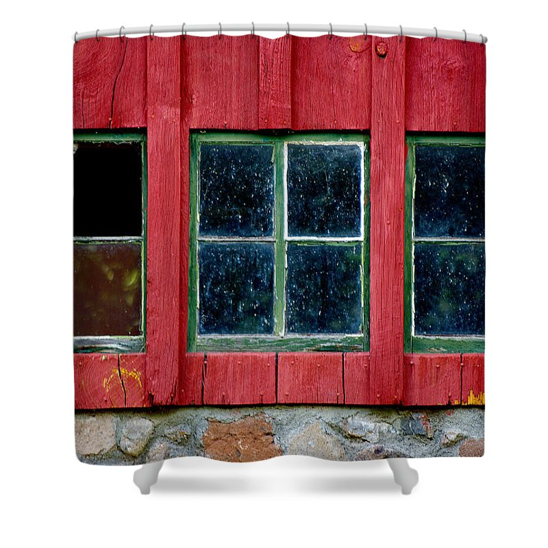 Window Shower Curtain featuring the photograph Look Throught Any Window by Vicki Pelham