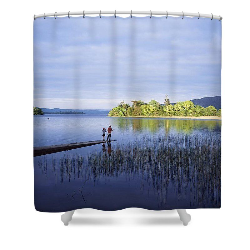 Childhood Shower Curtain featuring the photograph Lough Gill, Co Sligo, Ireland by The Irish Image Collection