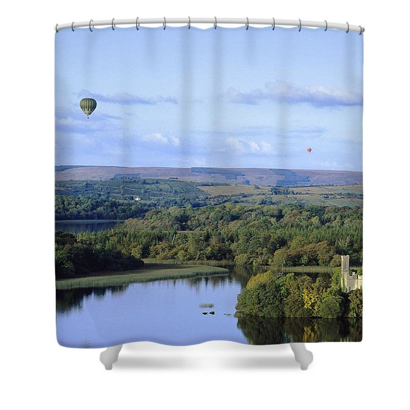 Journey Shower Curtain featuring the photograph Lough Key Forest And Activity Park by The Irish Image Collection