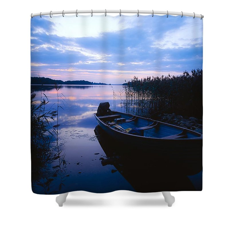 Boat Shower Curtain featuring the photograph Lough Leane, Lakes Of Killarney, Co by The Irish Image Collection