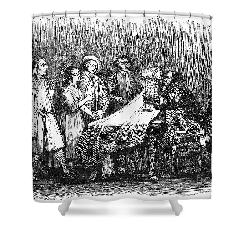 1840 Shower Curtain featuring the photograph Manzoni: I Promessi Sposi by Granger