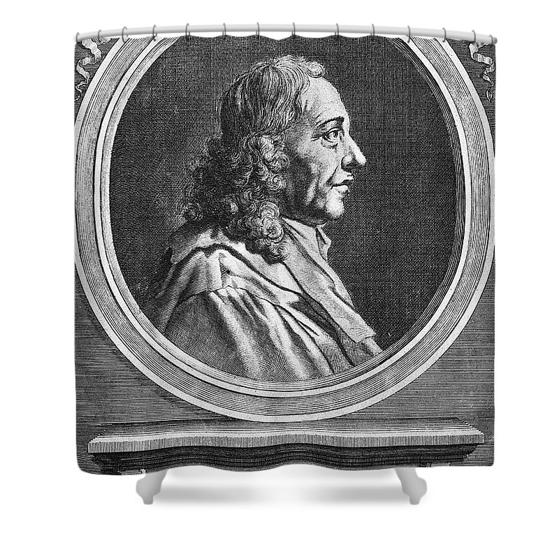 Marcello Malpighi Shower Curtains