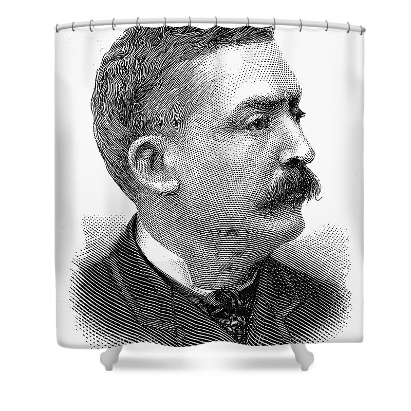 1889 Shower Curtain featuring the photograph Matthew Stanley Quay by Granger