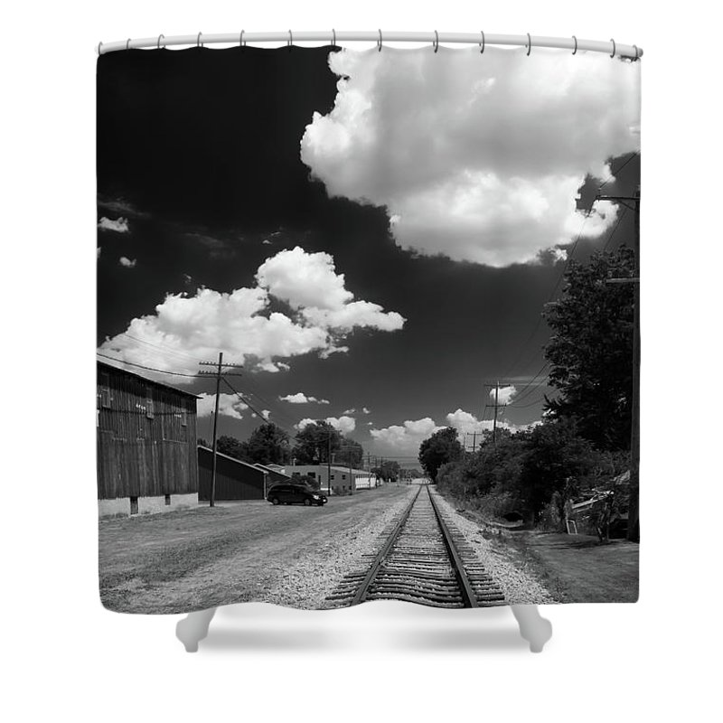 Engine Shower Curtain featuring the photograph Medina 7325 by Guy Whiteley