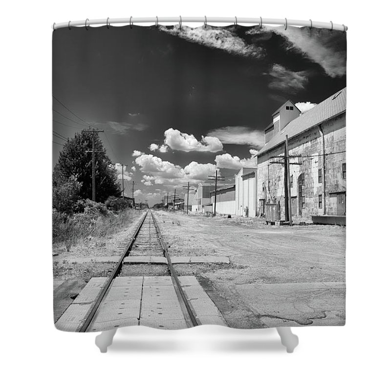 Engine Shower Curtain featuring the photograph Medina 7326 by Guy Whiteley