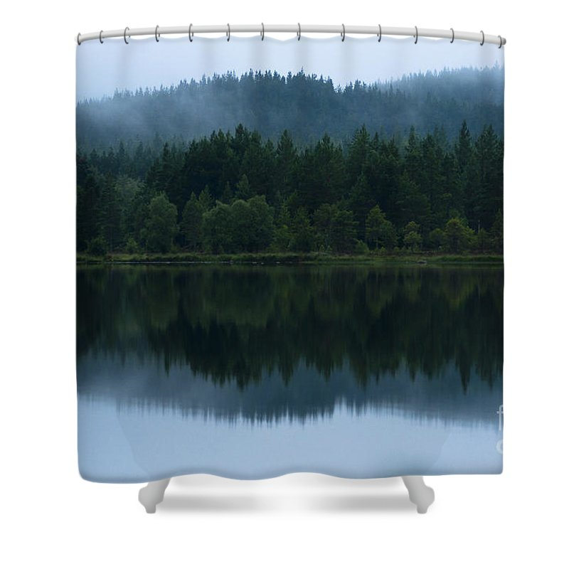 2011 Shower Curtain featuring the photograph Mirror Reflections by Andrew Michael