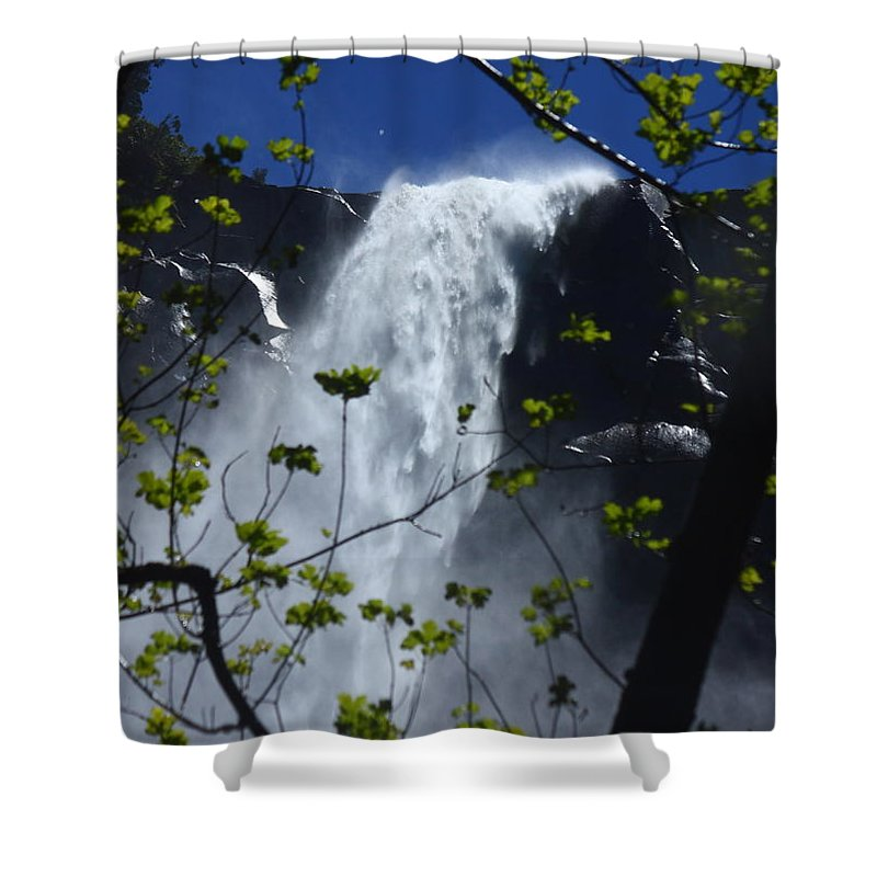 Bridal Veil Falls Shower Curtain featuring the photograph Mist by Patrick Witz
