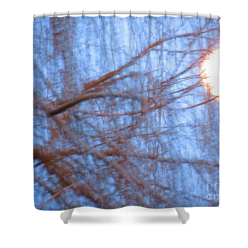 Full Moon Shower Curtain featuring the photograph Moveable Moon by Rrrose Pix