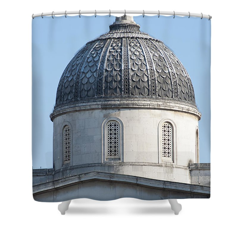 2011 Shower Curtain featuring the photograph National Gallery Cupola by Andrew Michael
