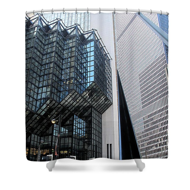 Architecture Shower Curtain featuring the photograph Naturally Abstract by Ian MacDonald
