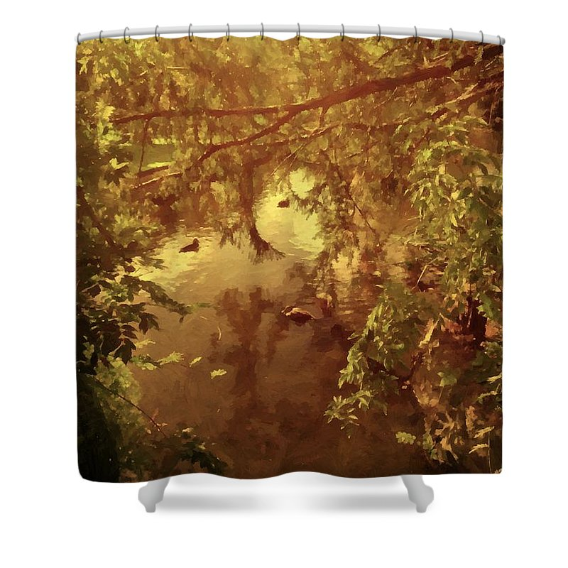 Nostalgia Shower Curtain featuring the photograph Nostalgia by Georgiana Romanovna