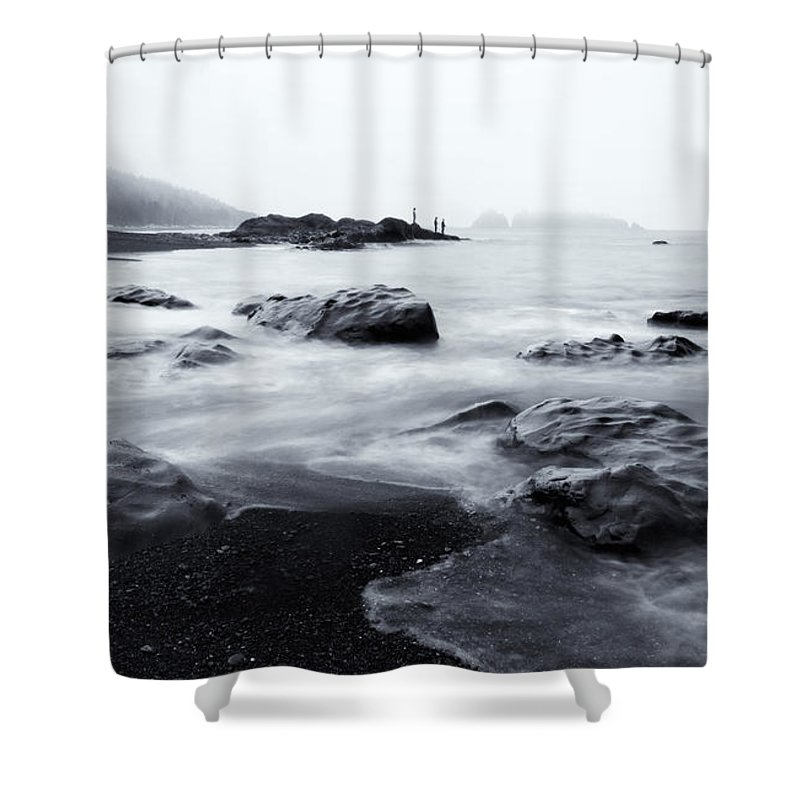 Sea Shower Curtain featuring the photograph Ocean Alive by Mike Dawson