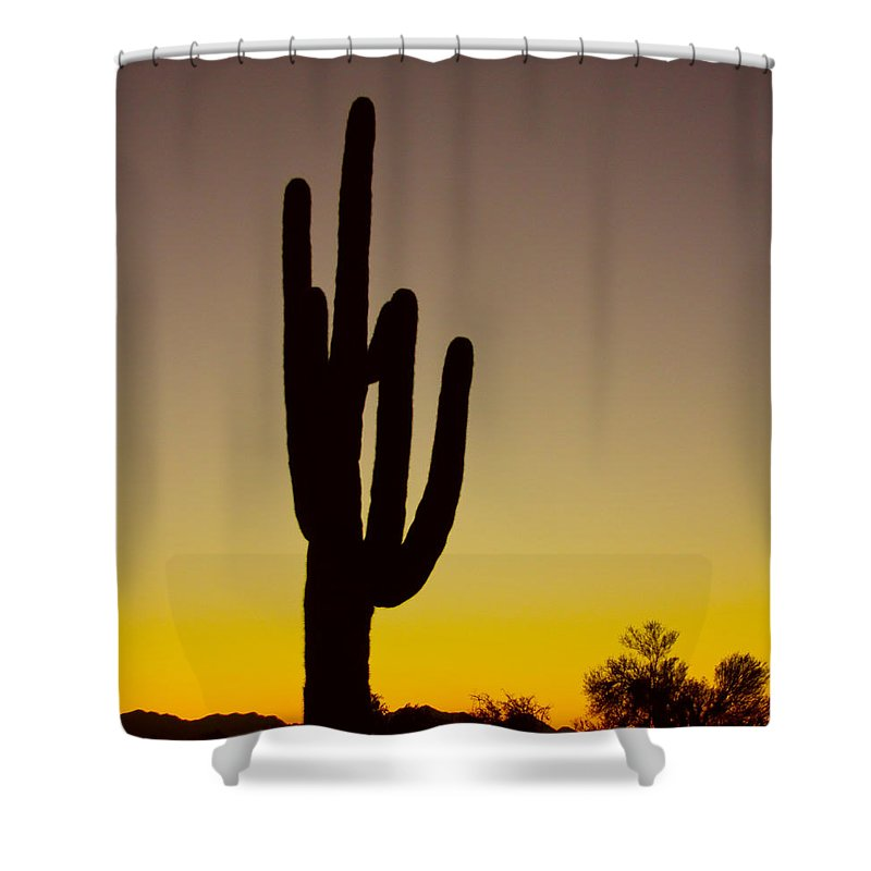 Giant Shower Curtain featuring the photograph Okay Sunrise by James BO Insogna