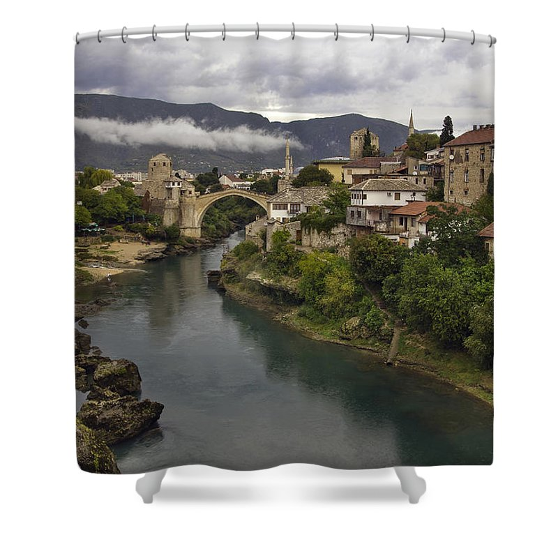 Mostar Shower Curtains