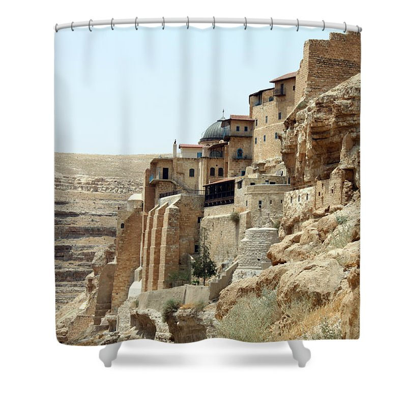 Bethlehem Shower Curtain featuring the photograph Old Orthodox Church by Munir Alawi