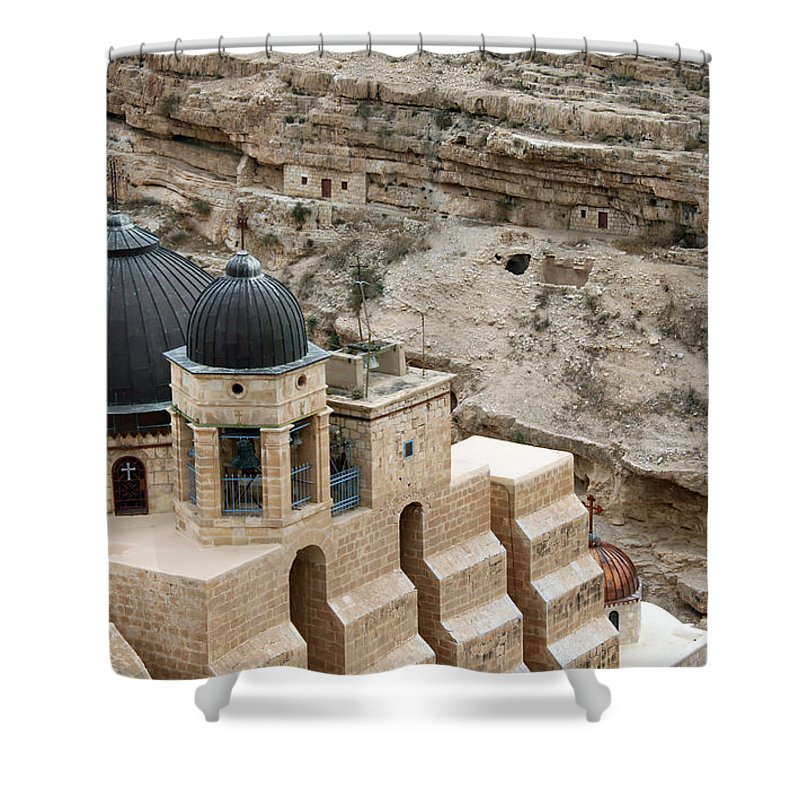 Mar Shower Curtain featuring the photograph On Top by Munir Alawi