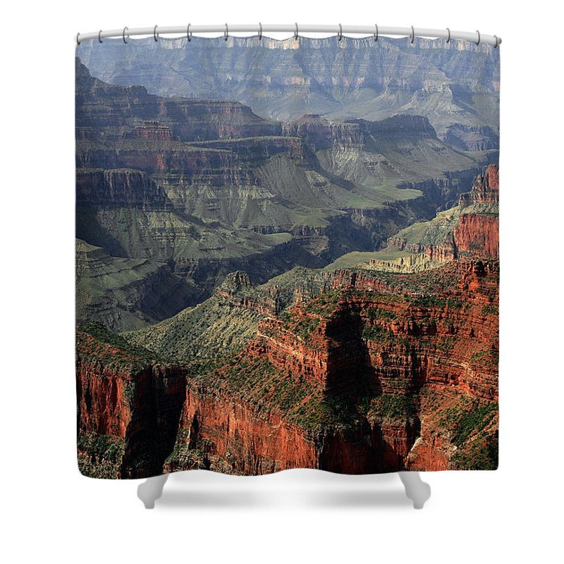 One River's Power Shower Curtain featuring the photograph One River's Power by Wes and Dotty Weber