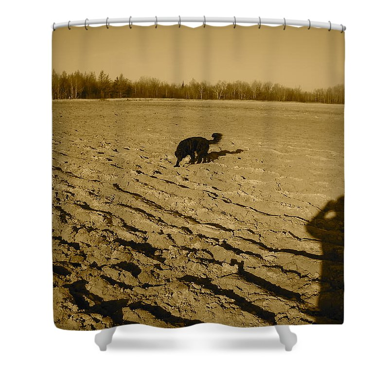 Field Shower Curtain featuring the photograph Outstanding In My Field by Kent Lorentzen
