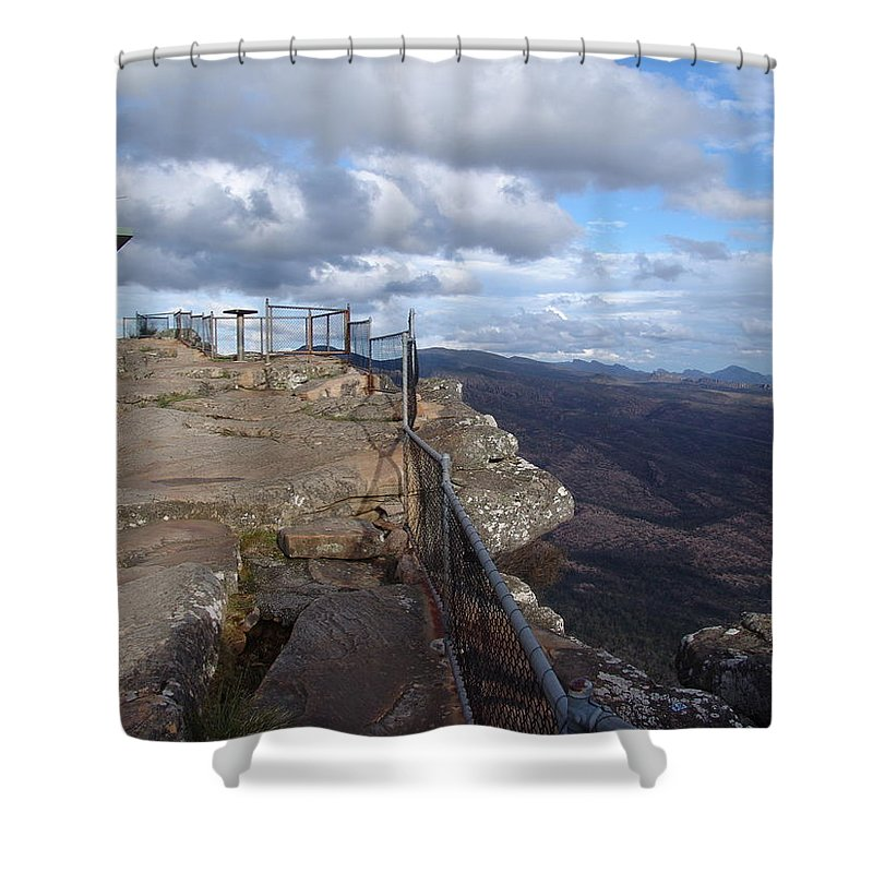 Mountain Shower Curtain featuring the photograph Valley Views by Ian Mcadie