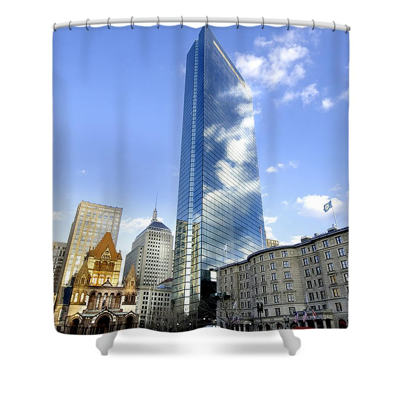 Art Shower Curtain featuring the photograph Painting With Sunsets by Greg Fortier
