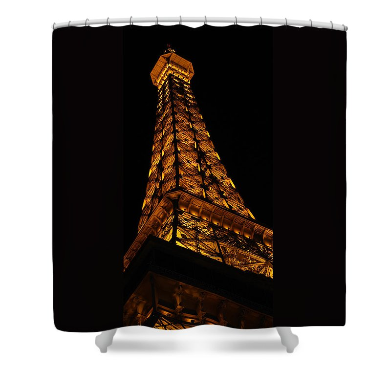 Eiffel Shower Curtain featuring the photograph Paris by Gypsy Chic