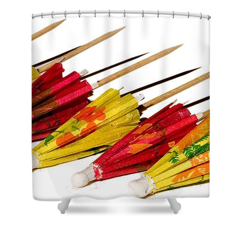 Still Life Shower Curtain featuring the photograph Party Time by Susan Smith