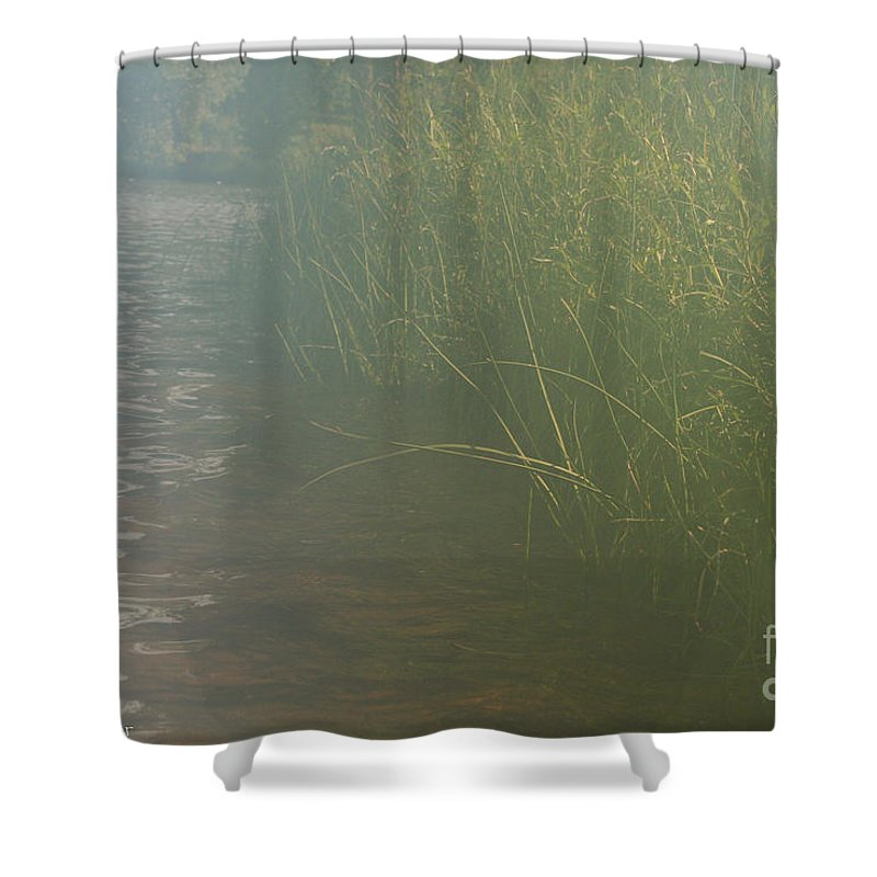 Outdoors Shower Curtain featuring the photograph Peaceful Morning by Susan Herber