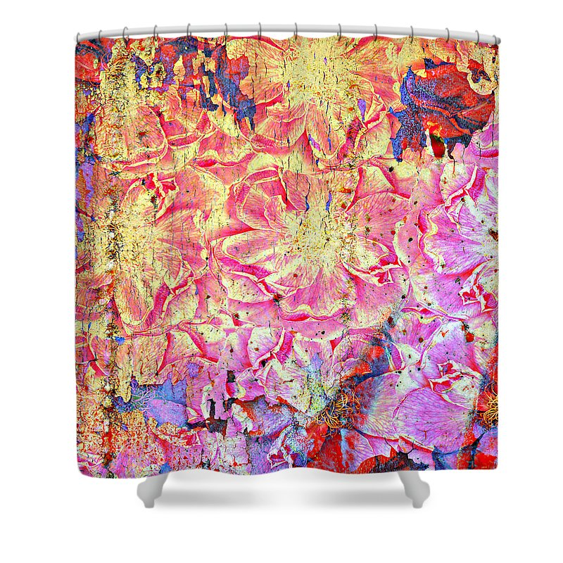 Jerry Cordeiro Photographs Photographs Framed Prints Photographs Framed Prints Framed Prints Framed Prints Shower Curtain featuring the photograph Petty In Pink by The Artist Project