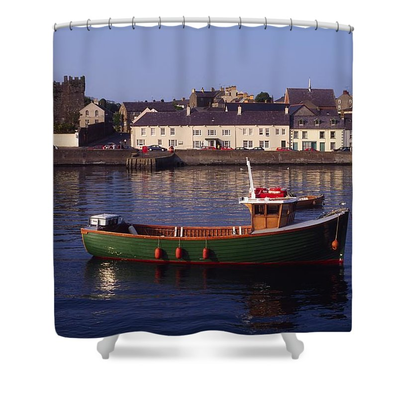 Ards Peninsula Shower Curtain featuring the photograph Portaferry, Strangford Lough, Ards by The Irish Image Collection