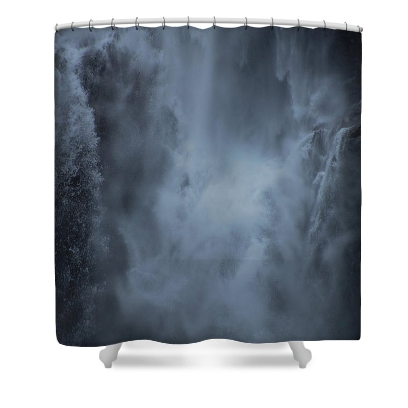 Water Shower Curtain featuring the photograph Power Of Water by Jonah Anderson