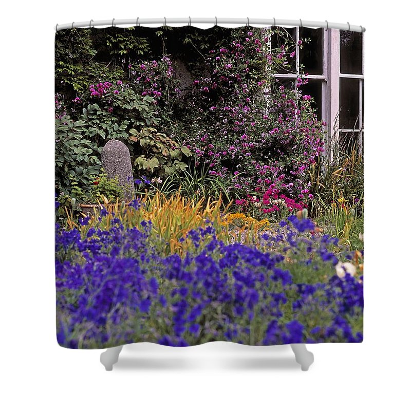 Day Shower Curtain featuring the photograph Primrose Hill, Lucan, Co Dublin by The Irish Image Collection