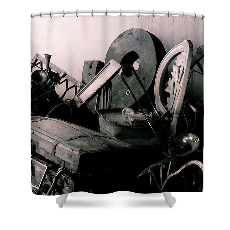 Art Shower Curtain featuring the photograph Prospect 1- A by Doug Duffey