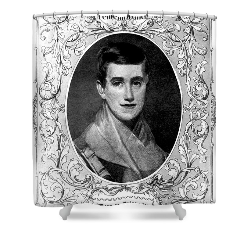 Education Shower Curtain featuring the photograph Prudence Crandall, American Educator by Photo Researchers