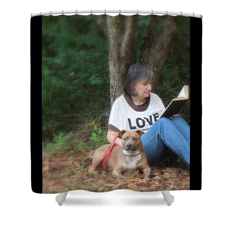 Woman Shower Curtain featuring the photograph Renee Trenholm by Renee Trenholm