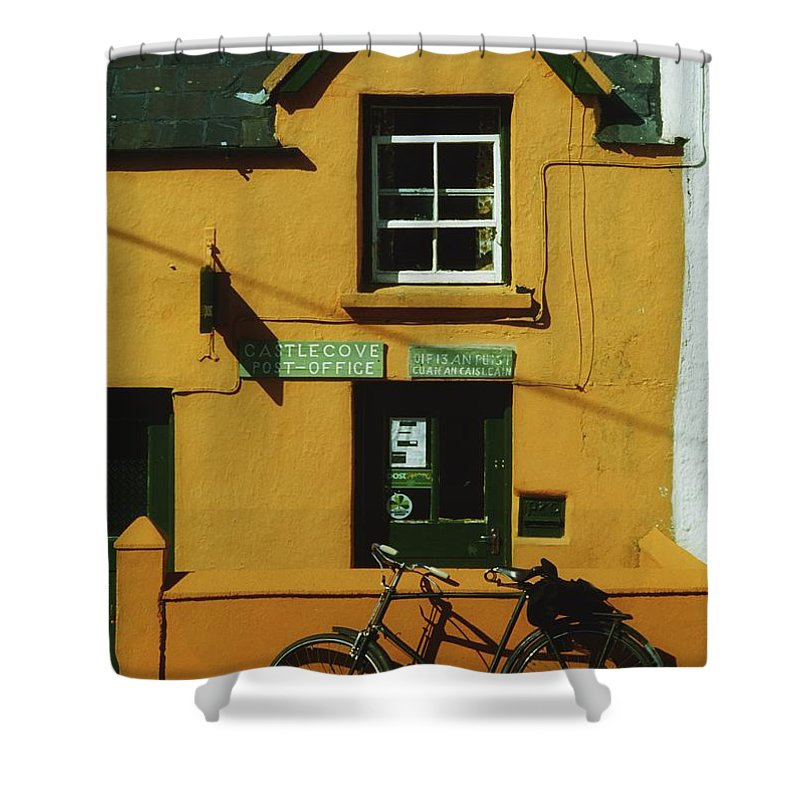 Outdoors Shower Curtain featuring the photograph Ring Of Kerry, Co Kerry, Ireland Post by The Irish Image Collection