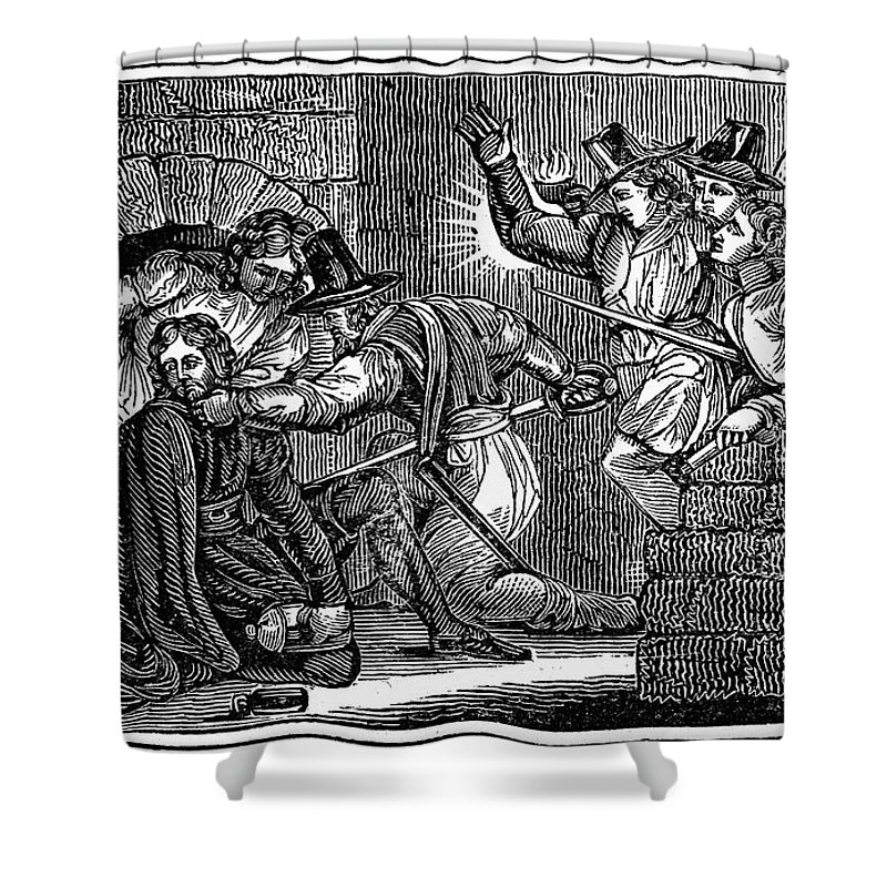 1605 Shower Curtain featuring the photograph Robert Catesby (1573-1605) by Granger
