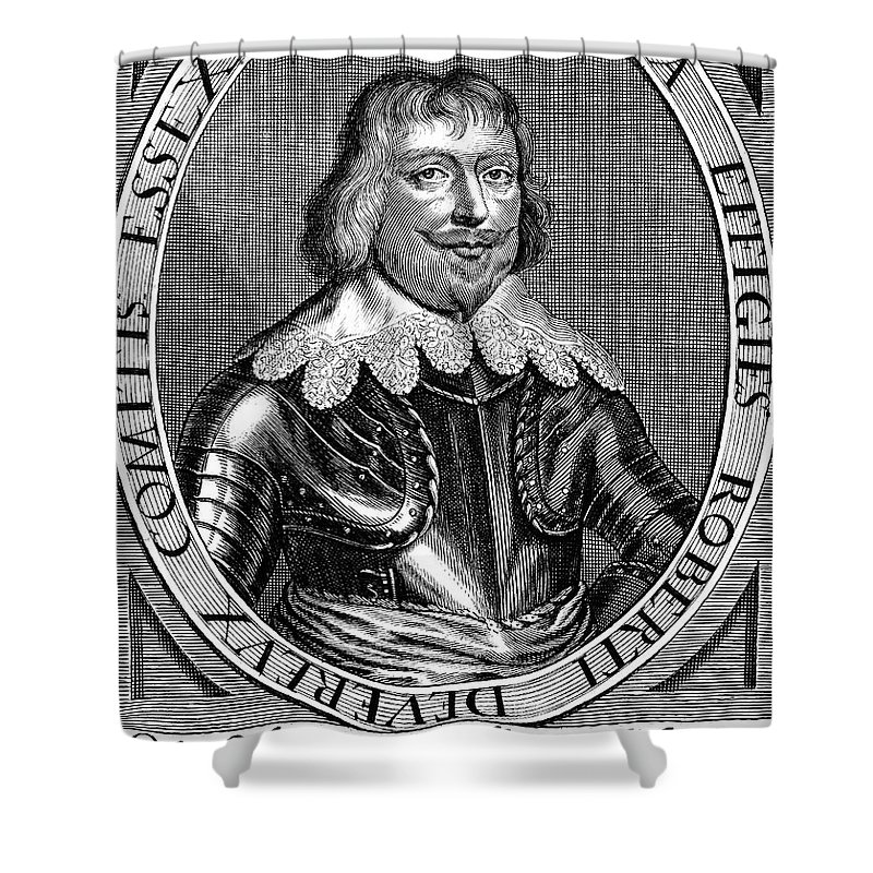 1643 Shower Curtain featuring the photograph Robert Devereux (1591-1646) by Granger