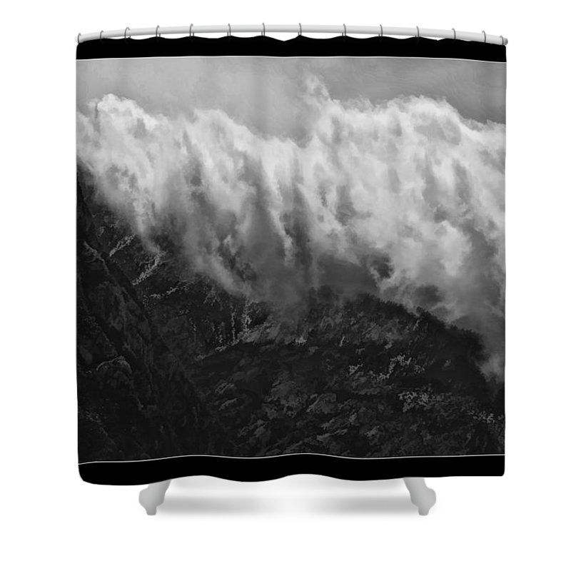 Fine Art Photographers Shower Curtain featuring the photograph Rolling Clouds by Blake Richards