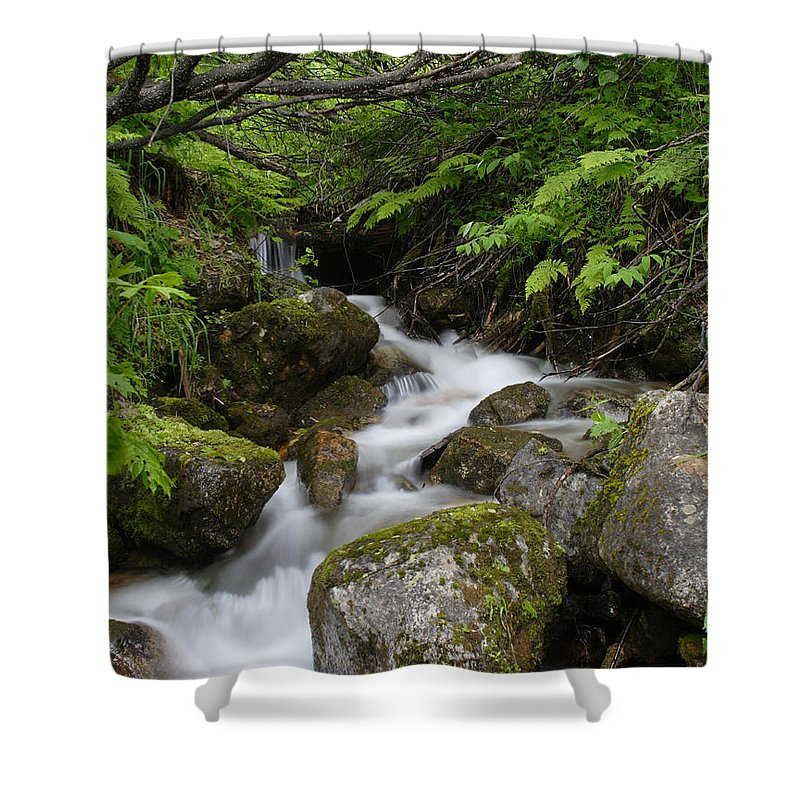 Doug Lloyd Shower Curtain featuring the photograph Rolling by Doug Lloyd