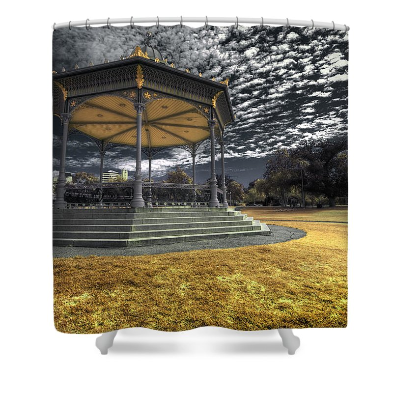 Rotunda Shower Curtain featuring the photograph Rotunda by Wayne Sherriff