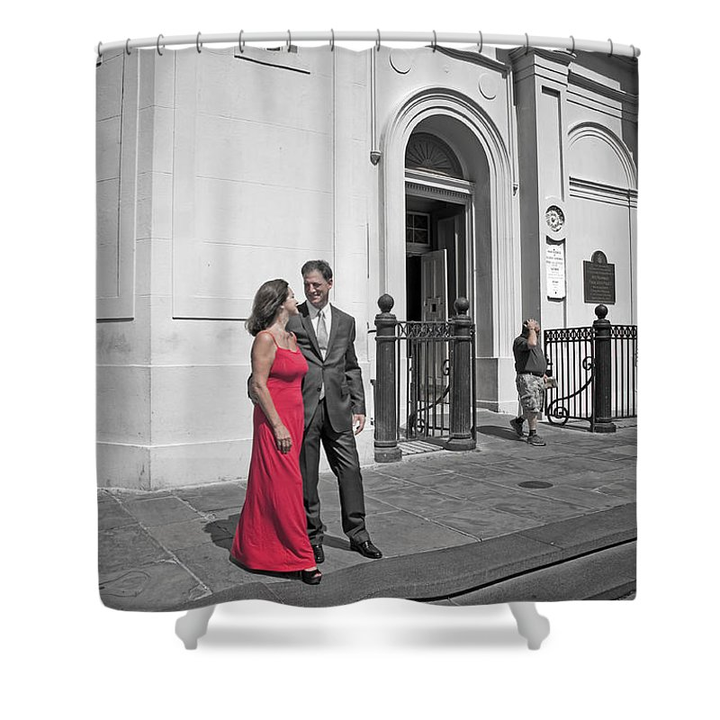 New Orleans Shower Curtain featuring the photograph S And D 54 by Kathleen K Parker