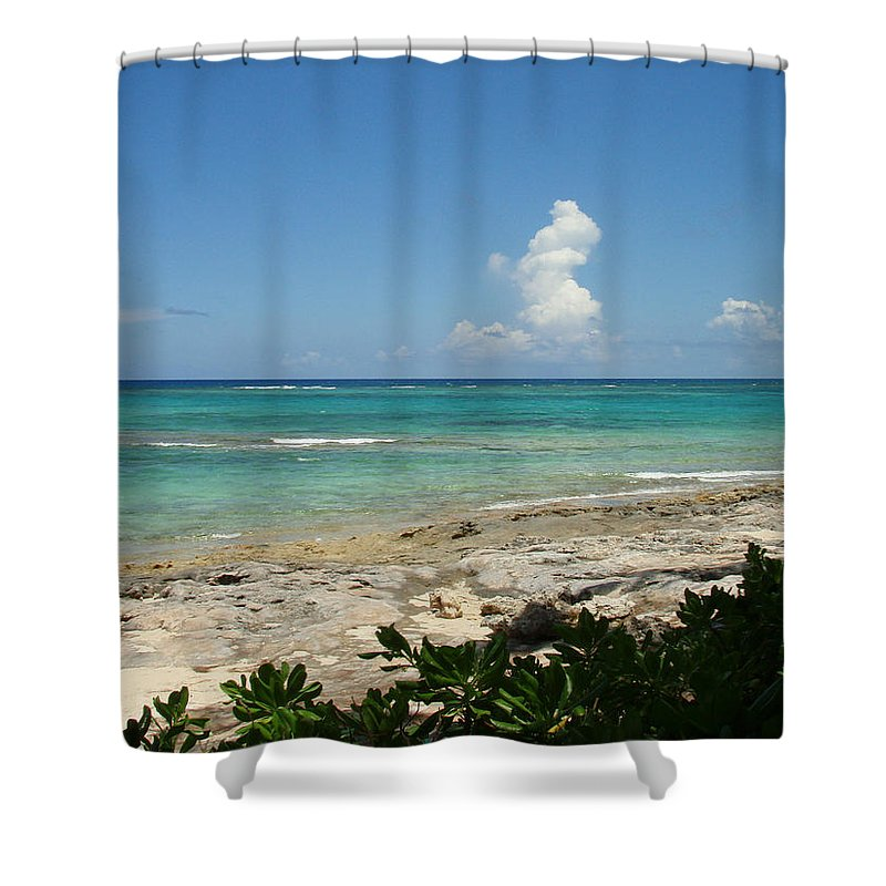 Cay Shower Curtain featuring the photograph Sandals Cay by Kimberly Perry
