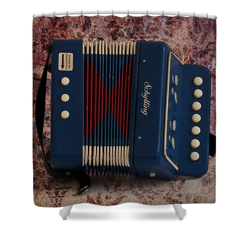 Schylling Accordion Shower Curtain Featuring The Photograph By Bill Cannon