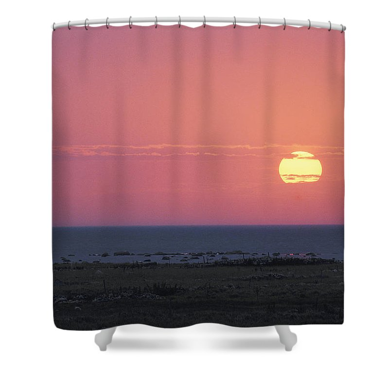 Europe Shower Curtain featuring the photograph Seascape On The Baltic Sea Or The Gulf by Mattias Klum