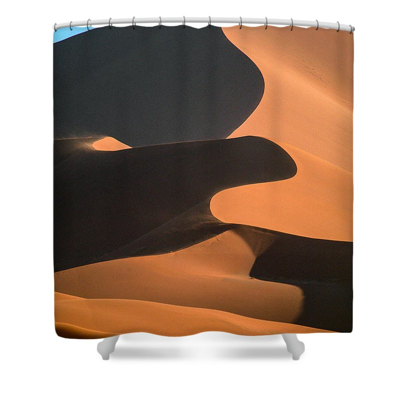 Africa Shower Curtain featuring the photograph Shapes by Alistair Lyne